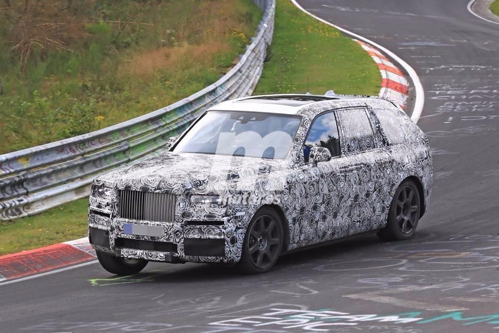 Rolls-Royce Cullinan 2019: el SUV ya está probando en Nürburgring