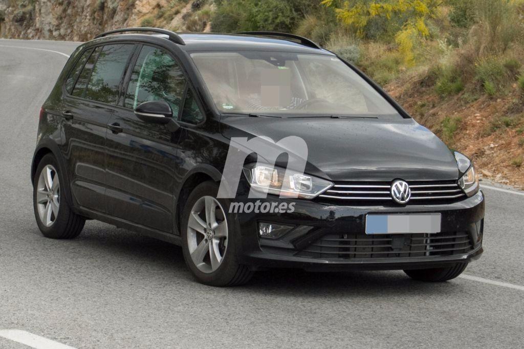 Volkswagen Golf Sportsvan Alltrack: misteriosa unidad cazada probando en España