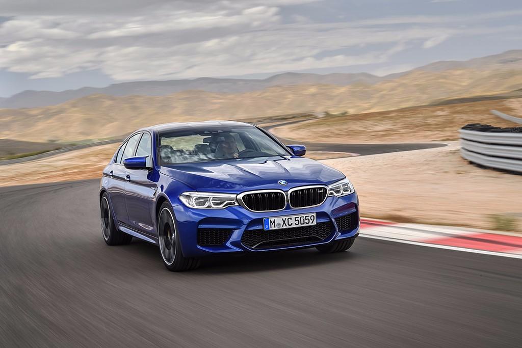 BMW M5 2018: dinamismo y altas prestaciones