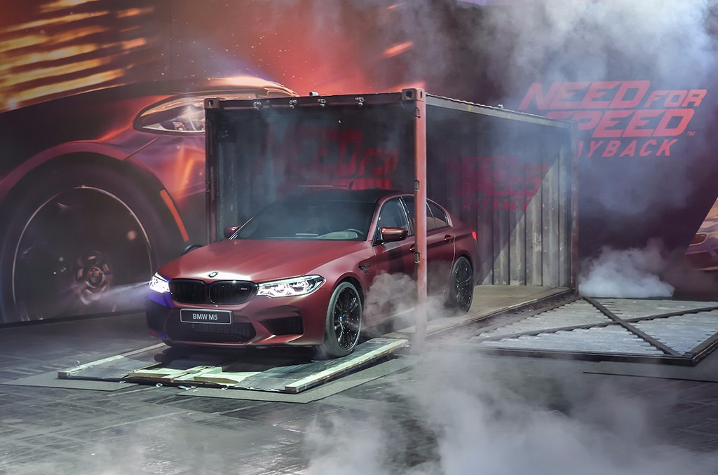 El nuevo BMW M5 2018 estará en Need for Speed Payback