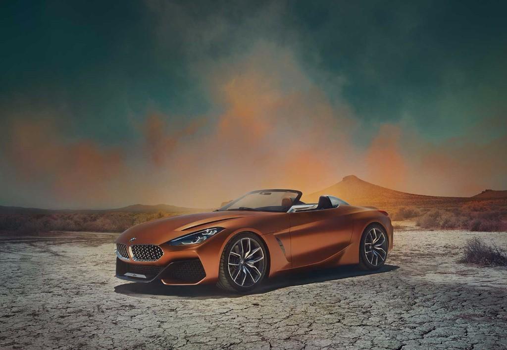 BMW Z4 Concept: desvelado al completo el nuevo roadster alemán