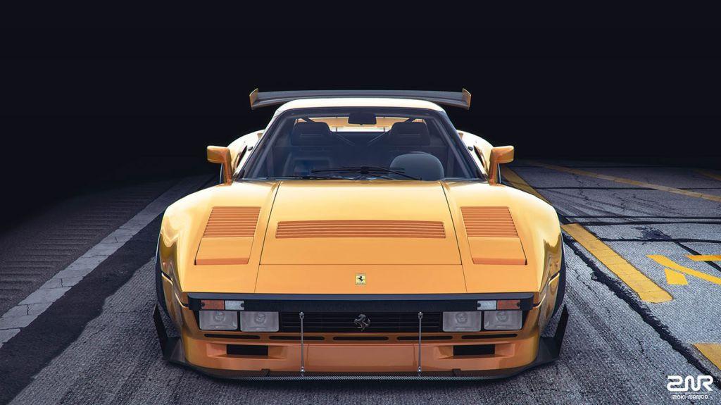 Ferrari 288 GTO R: recreación de la versión de competición no nata del GTO