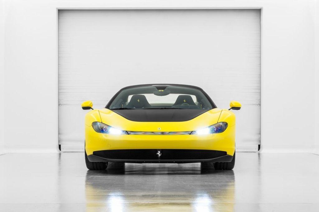 Uno de los seis Ferrari Pininfarina Sergio fabricados aparece a la venta