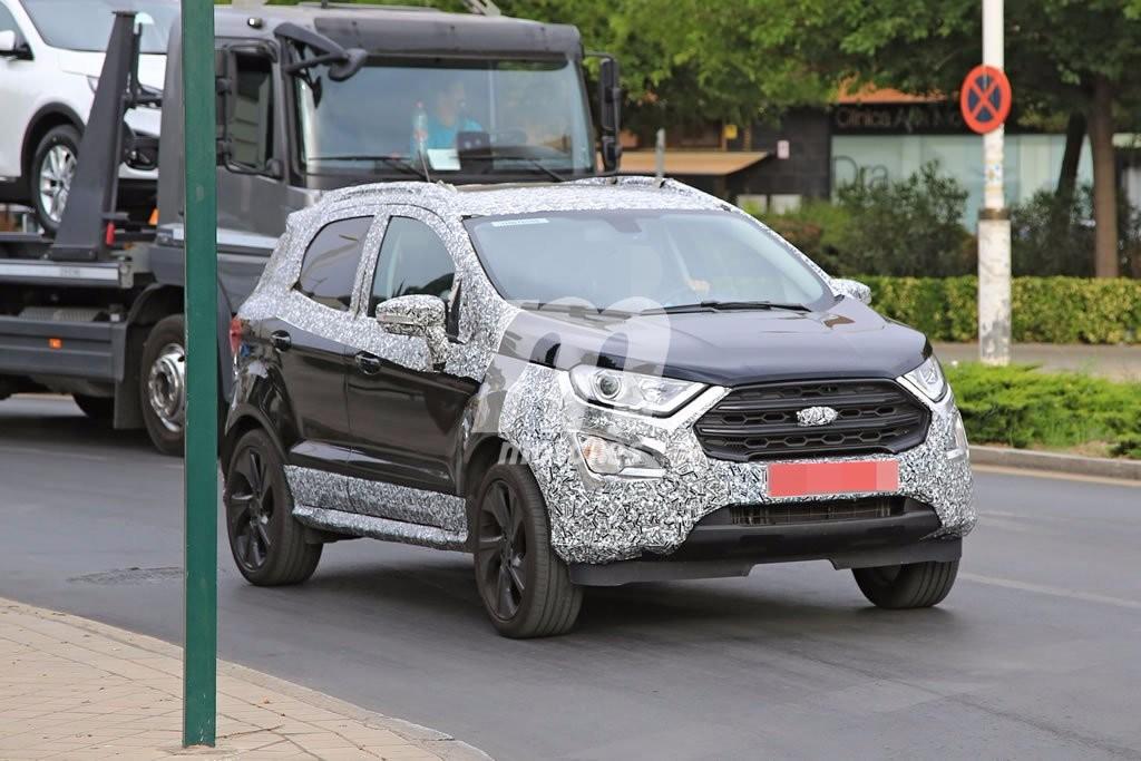 El nuevo Ford EcoSport ST-Line 2018 llegará para aportar un poco de picante a la gama