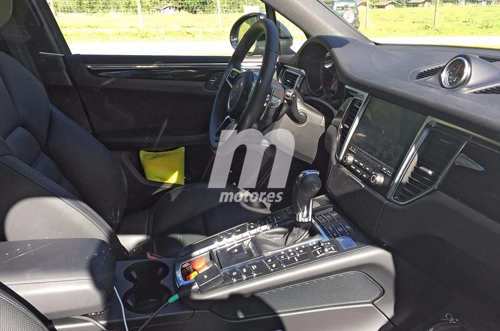 Nos asomamos al interior del Porsche Macan 2018 por primera vez