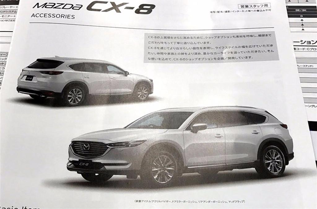 Más detalles del Mazda CX-8 al descubierto gracias a un folleto filtrado