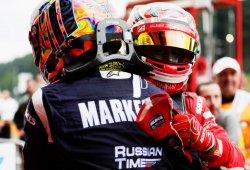 Artem Markelov, vencedor tras la descalificación de Leclerc y Rowland