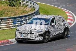 El Audi e-tron quattro 2018 se enfrenta al trazado de Nürburgring
