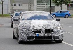 El nuevo BMW Serie 8 2019 ya circula con sus ópticas definitivas