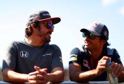 """Sainz: """"Las peleas con Alonso serán lecciones útiles para mi futuro en la F1"""""""