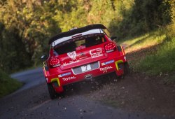 El Citroën C3 WRC vuelve al asfalto en Alemania