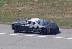 Chevrolet Corvette C8: el nuevo 'Vette de motor central cazado con su nueva carrocería