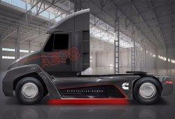 El camión eléctrico de Tesla llega tarde: presentado el Cummins Aeos