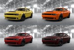 El nuevo Dodge Challenger SRT Demon ya tiene abierto su configurador