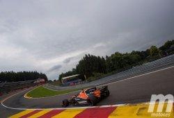 El paso de Alonso a fondo por Pouhon, el causante de la pérdida de potencia