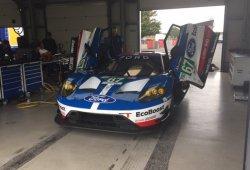 El Ford GT estrena novedades de cara a 2018 en Snetterton
