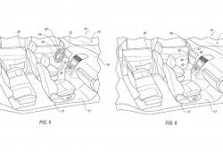 Ford patenta un sistema de volante y mandos desmontables para coches autónomos