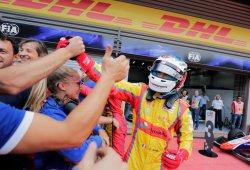 Giuliano Alesi vence la prueba sprint pese al remontadón de Russell