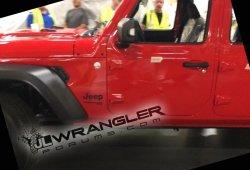 Jeep Wrangler 2018: nueva filtración desde la propia cadena de montaje