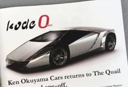 Ken Okuyama desvela el espectacular Kode 0 en Pebble Beach