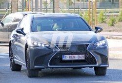 Exclusiva: cazamos el nuevo Lexus LS Fuel Cell de hidrógeno