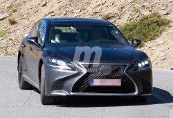 Lexus LS 2018 Hybrid: cazamos un misterioso prototipo del nuevo híbrido