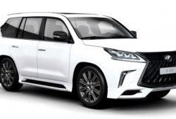 Lexus LX 570: filtrado al completo el nuevo kit TRD para el modelo 2018