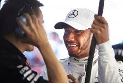 """Hamilton: """"Estoy muy orgulloso de estar en lo más alto junto a Schumacher"""""""