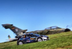 Ott Tänak cimenta su liderato en el Rally de Alemania