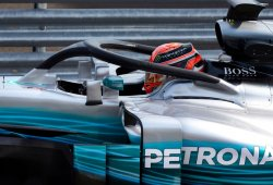 El nuevo Halo que probó Mercedes en Hungría convenció a George Russell