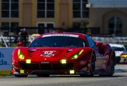 Risi Competizione recupera el Ferrari 'herido' en Le Mans
