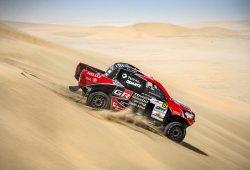 Se complica el Dakar 2018 para Leeroy Poulter