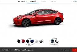 Tesla Model 3: el correcto pero falso configurador del modelo