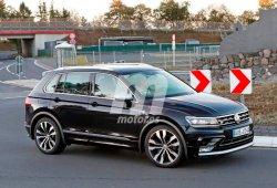 Volkswagen Tiguan R: cazado de nuevo en Nürburgring