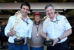 Wolff y Brawn, contrarios a la vuelta de los V8 a la Fórmula 1 actual