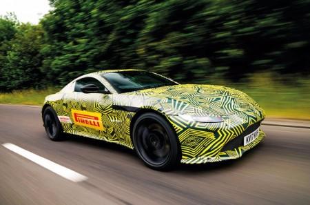 El nuevo Aston Martin Vantage 2018 está casi listo para su debut