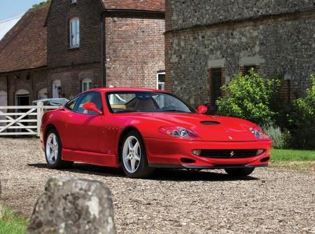 Ferrari 550 Sperimentale: ejemplar único del 550 Maranello a la venta