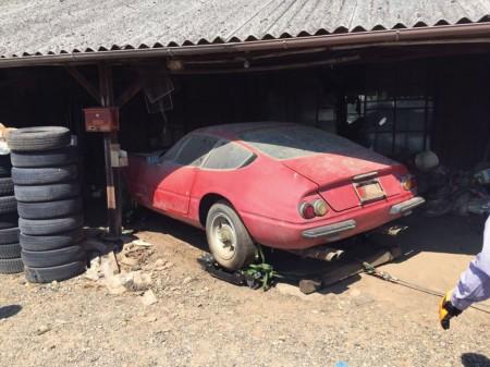El rescate del único Ferrari Daytona de calle carrozado en aluminio