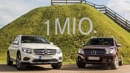 El Mercedes Clase GLC, antes llamado GLK, alcanza el millón de ventas