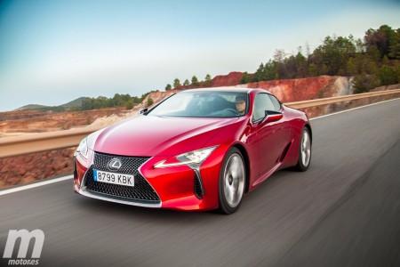 Prueba Lexus LC 500: lujo y distinción