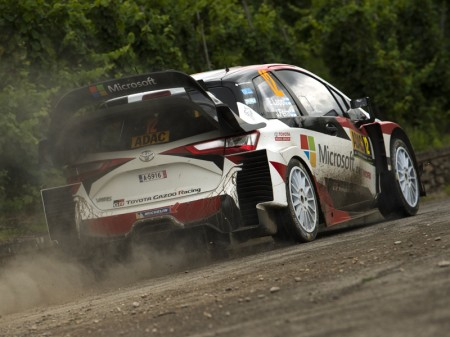 """El """"push"""" final del Toyota Yaris WRC en 2017"""