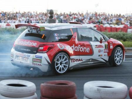Stéphane Lefebvre no levanta cabeza en el Rally de Madeira