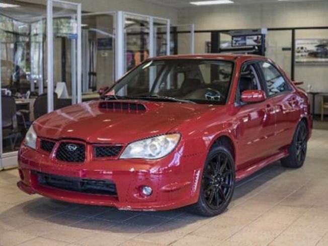 Subaru WRX 2006 de Baby Driver