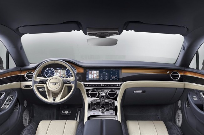 Bentley Continental GT 2018 - interior
