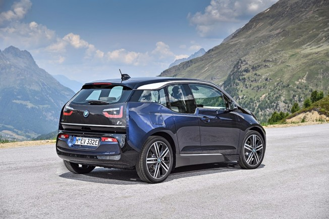 BMW i3 2018 - posterior
