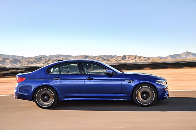 BMW M5 2018 - lateral