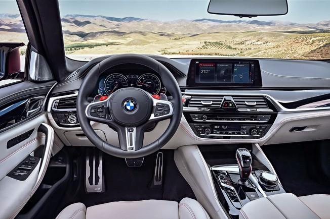 BMW M5 First Edition - interior