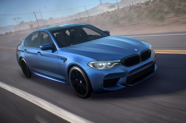 BMW M5 2018 en Need for Speed Payback