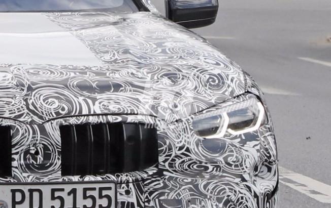 BMW Serie 8 2019 - foto espía