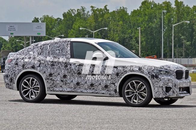 BMW X4 M 2018 - foto espía